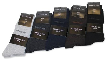 15 pares de calcetines Cerruti en varios colores