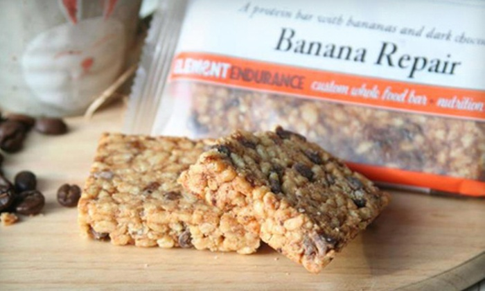 Element Bars: Nutrition Bars from Element Bars (Up to 52% Off). Two Options Available.