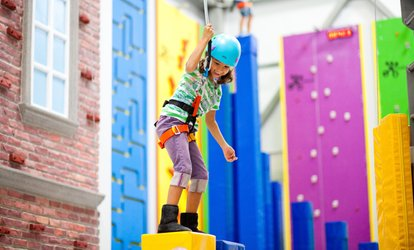 image for Open <strong>Climbing</strong> for One or Two Children at Sender One <strong>Climbing</strong> SNA (Up to 36% Off)