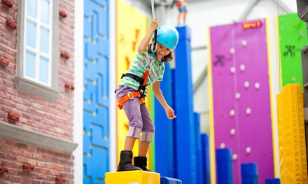 60-Minute Rock-Climbing Session for Two in Funtopia at Sender One Climbing (Up to 44% Off). Two Options Available.
