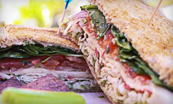 Grilla Bites - Rio Grande: Organic Sandwiches at Grilla Bites (Half Off). Two Options Available.