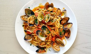EnjoEat Italian Restaurant : Italian Dinner or Lunch at EnjoEat (Up to 50%Off). Four Options Available.