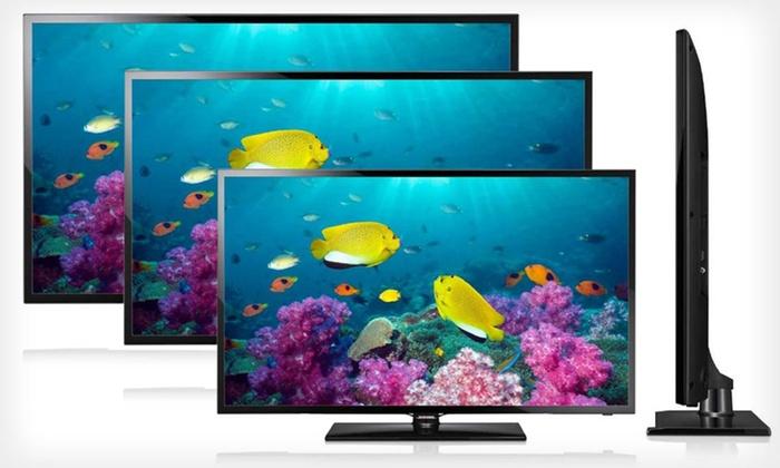"Samsung 1080p 60Hz Slim LED HDTVs: Samsung 32"", 46"", or 50"" 1080p 60Hz Slim LED HDTV (Up to 33% Off). Free Shipping and Returns."