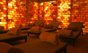 Salt Cave Halotherapy & Wellness Centre: 1Hr Salt Cave + Yoga Package for 1 ($50) or 5 ($249) at Salt Cave Halotherapy & Wellness Centre (Up to $500 Value)