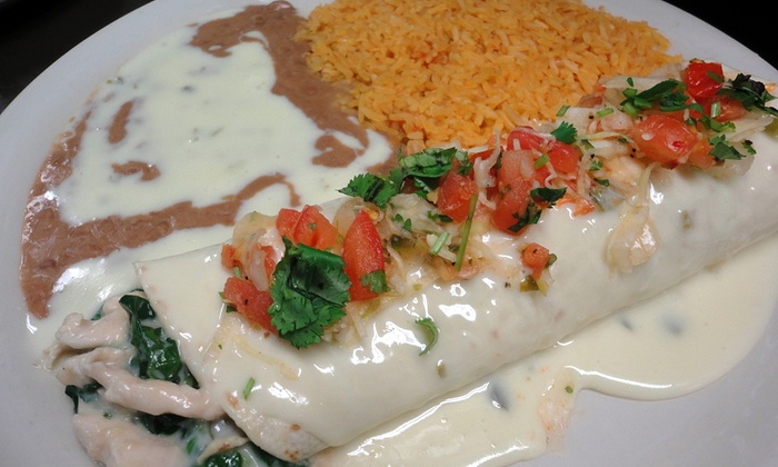 Don Pedro Mexican Restaurant - Don Pedro Mexican Restaurant University Location: Three or Five Groupons, Each Good for $10 Worth of Mexican Food at Don Pedro Mexican Restaurant (50% Off)