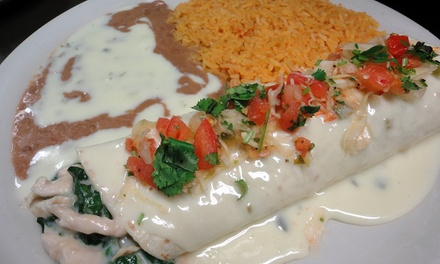 Three or Five Groupons, Each Good for $10 Worth of Mexican Food at Don Pedro Mexican Restaurant (50% Off)