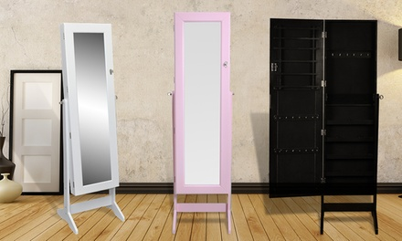 Armadio portagioie con specchio groupon goods for Groupon armadio