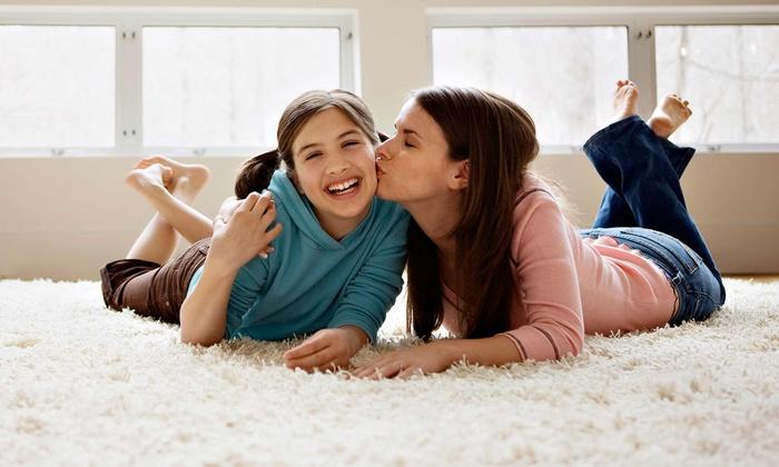 Gem Carpet Cleaning - Concord: $99 for Carpet Cleaning for Three Rooms from Gem Carpet Cleaning ($210 Value)