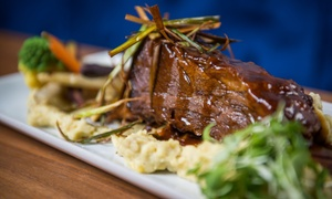 Fogo Restaurant Euro-Lounge: C$25 for a C$50 Voucher Valid on Meals and Drinks at Fogo Restaurant Euro-Lounge