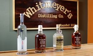 Whitmeyer's Distilling Co.: Distillery Tour for Two, Four, or Six at Whitmeyer's Distilling Co. (Up to 59% Off)