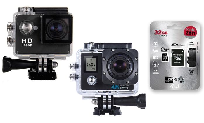 Videocamera sportiva X'TREM in 2 modelli con accessori e memoria a scelta da 16/32GB da 44,90 € (fino a 82% di sconto)