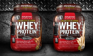 2-Pack of Six Star Whey Protein Plus