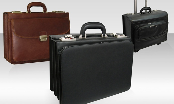 Amerileather Briefcase: Amerileather Executive and Travel Bags. Multiple Styles and Colors Available. Free Returns.