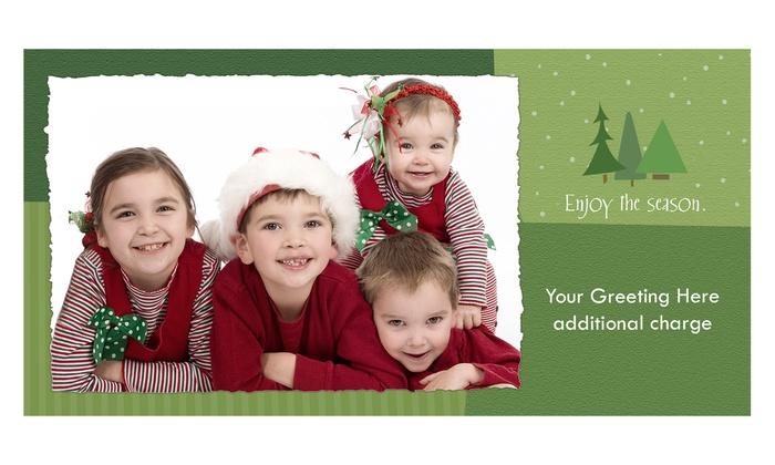 "FAST FOTO & digital - Fast Foto & Digital: 50 4""x8"" or 5""x7"" Photo Greeting Cards with Envelopes at Fast Foto & Digital (Up to 58% Off)"
