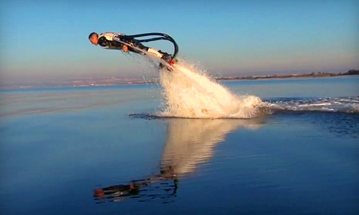 Flyboard Rentals of Orlando - Mot Greenwood: One Flyboard Ride