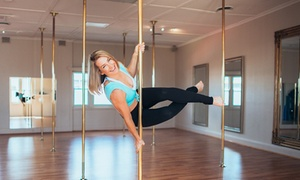 Studio Exclusive Pole Dancing: Four-Week Beginner Dance Course for One ($45) or Two People ($79) at Studio Exclusive Pole Dancing (Up to $430 Value)