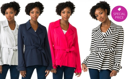G.E.T. Wrap Jacket. Multiple Colors Available.