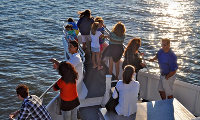 Starlight Fleet - Wildwood Crest: Dolphin-Watching Cruise with Dinner Buffet and Drinks for Two or Four from Starlight Fleet (Up to 52% Off)