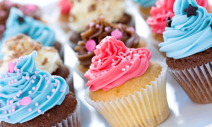 JJ's Cupcakes and Creamery - Penn: One or Two Dozen Medium Cupcakes from JJ's Cupcakes and Creamery (50% Off)