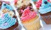 ***OOB*** JJ's Cupcakes & More - Penn: One or Two Dozen Medium Cupcakes from JJ's Cupcakes and Creamery (50% Off)