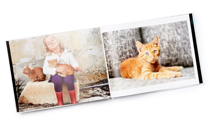 """Collage.com: Personalized 8""""x8"""" Softcover Photo Book or 8.5""""x11"""" Hardcover Photo Book from Collage.com (Up to 83% Off)"""
