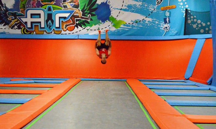 Air Trampoline Sports - Ronkonkoma: Jump Packages for Two or Four at Air Trampoline Sports (Up to 51% Off)