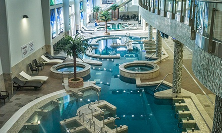 $19 for Full Access, Including Indoor Water-Park Attractions, at King Spa and Sauna (Up to $40 Value)