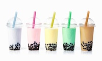Bubble Tea or Bubble Tea Smoothie for One, Two, or Four at Shabby Chic Cafe (Up to 55% Off)