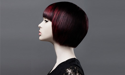 $65 for Haircut and Conditioning Treatment with Single-Process Color at Salon Craft ($165 Value)