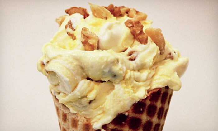 Old Town Creamery - Plano: Ice Cream or Ice-Cream Cakes at Old Town Creamery (Half Off)