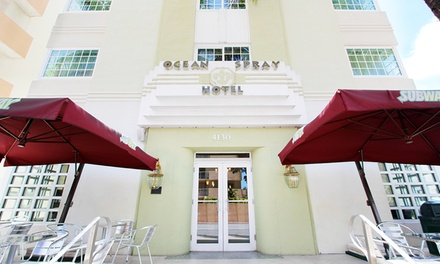 Stay at Ocean Spray Hotel - Miami Beach, FL. Dates into September.