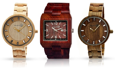 Earth Rhizomes or Branch Men's Wood Watches from $49.99 to $54.99