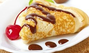 Mundo Crep: Menú proteico para dos con ensalada, crep salados y dulces, batido o bebida y café desde 11,90 € enMundo Crep