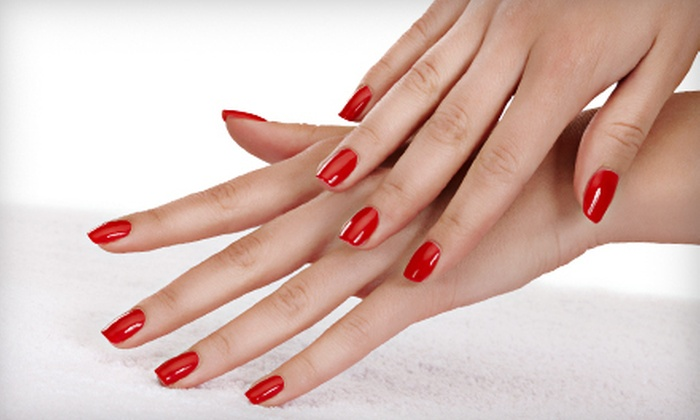 Salon Sixta - Ojus: One, Two, or Three Shellac Manicures at Salon Sixta in Aventura (57% Off)