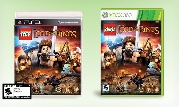 Lego: The Lord of the Rings Video Game: $23.99 for Lego The Lord of the Rings for Xbox 360 or PlayStation 3 ($39.99 List Price). Free Shipping and Returns.