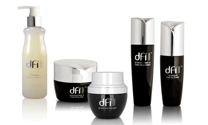 DFI 5-Piece Anti-Aging Skincare Set: DFI 5-Piece 60 Second Anti-Aging Skincare Set