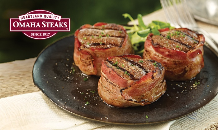 Father's Day Grilling Assortments from Omaha Steaks: Omaha Steaks Father's Day Grilling Assortments from $55–$149