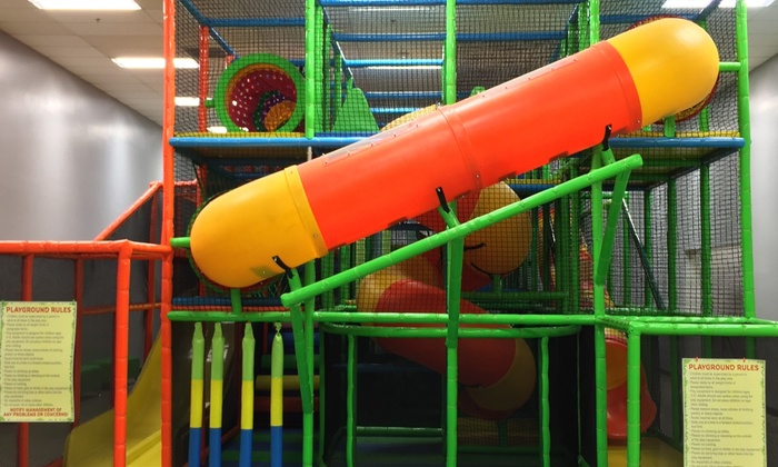 Funky Monkey Playland - Funky Monkey Playland: One, Two, or Four Indoor Open-Play Sessions at Funky Monkey Playland (Up to 58% Off)
