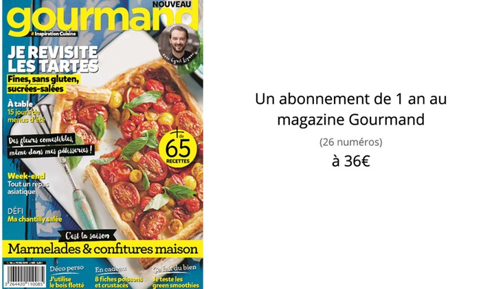 Abonnement magazine reworld media groupon for Le journal de la maison abonnement