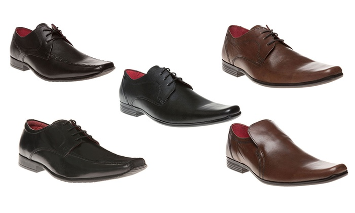 Men's Red Tape Leather Shoes | Groupon Goods