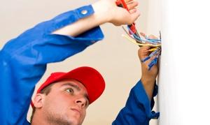 A Plus Electric: $50 for $100 Worth of Electrical Services from A Plus Electric