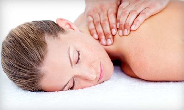 Ron Paul Salon & Day Spa - Chesapeake: Massage with Express, European, or Microdermabrasion Facial at Ron Paul Salon & Day Spa (Up to 54% Off)