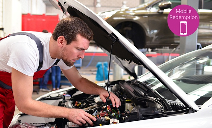 Full Car Service Package - One ($49) or Two Visits ($89) at President Automotive and Parts Ltd (Up to $320 Value)