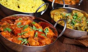 Raj Mahal: Indian Food at Raj Mahal (35% Off). Two Options Available.