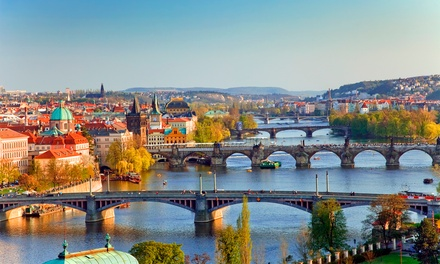 Prague: 1 to 4 Nights for Two with Breakfast, Wine and Early Check-In or Late Check-Out at Hotel Astra