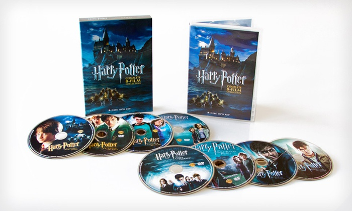 "Harry Potter 8-Film DVD Set : $49 for ""Harry Potter"": The Complete 8-Film Collection DVD Set ($98.92 List Price)"