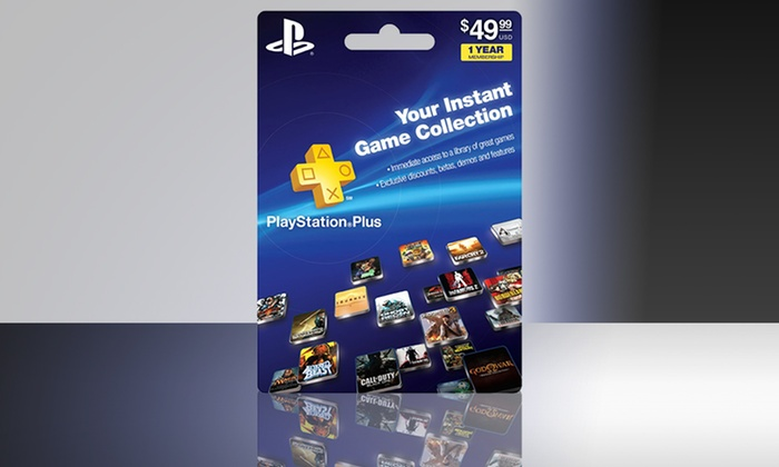One-Year Subscription to PlayStation Plus : One-Year Subscription to PlayStation Plus