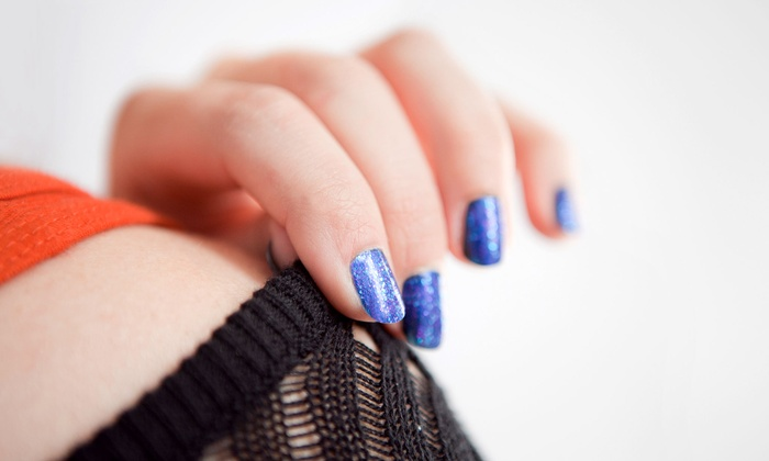 Happy Feet – Massage, Nail & Skincare - Glendale: Gel Manicure, Hot Oil Pedicure, or Deluxe Mani-Pedi at Happy Feet – Massage, Nail & Skincare (Up to 57% Off)