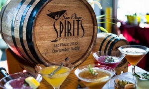 San Diego Spirits Festival: Visit for One or Two on August 27 or 28 to the San Diego Spirits Festival (Up to 44% Off)