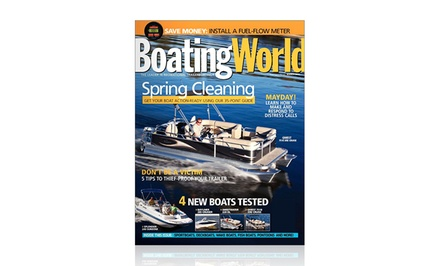 1-Year, 9-Issue Subscription to Boating World